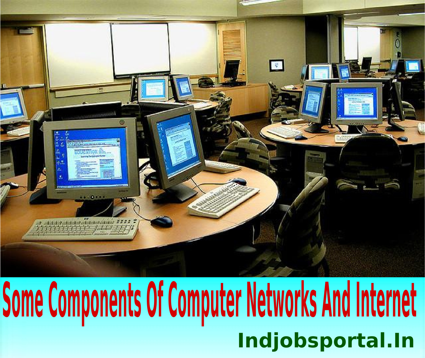 Some Componenets of Computer networks by indjobsportal.in